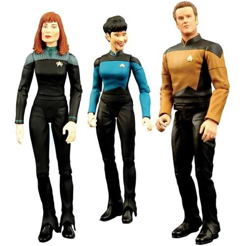 Star Trek The Next Generation Figures Series 5 Set Of 3 - 3 per Pack