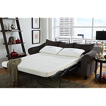 Amazon Com Zinus Cool Gel Memory Foam 5 Inch Sleeper Sofa