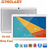 Teclast 98 Dual Camera 10.1 Inch IPS Screen Tablet PC Ounice 2GB 32GB Storage Android 6.0 Octa Core Dual WIFI SIM Tablet (Silver)