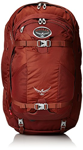 Osprey Farpoint 70 Travel Backpack Mud Red Small Medium