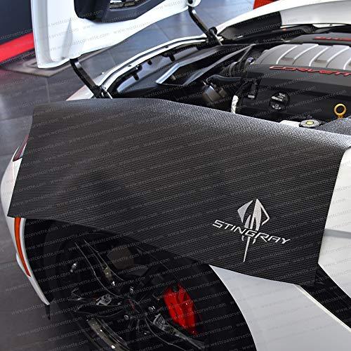 Corvette Fender Mat with C7 Stingray Logo (Black)