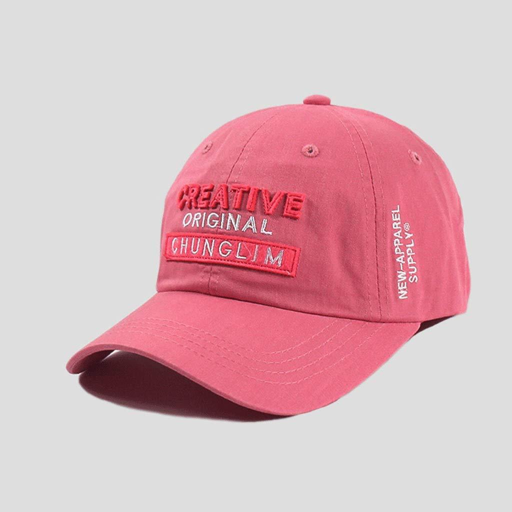 SLH Sombrero de béisbol de Gorra de Moda Sombrero de Sol de sombrilla  Masculina Sombrero de Amante de Verano (Color   Pink)  Amazon.com.mx  Hogar  y Cocina d219612c18e