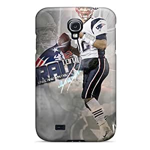 Bumper Hard Cell-phone Case For Samsung Galaxy S4 With Provide Private Custom Realistic New England Patriots Image TimeaJoyce