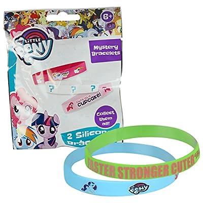 Little Pony My Mystery Bracelet Blind Bag, 2 Silicone Bracelets per Bag: Toys & Games