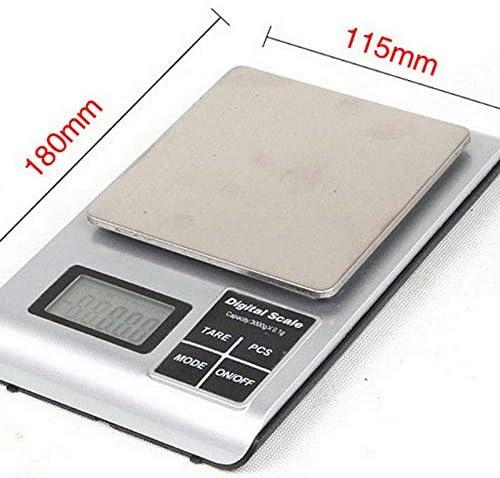 Digitale Personenwaage Digitale Küchenwaage Mini-Backen-Skala Goldene Elektronische Waage 3 kg / 0.1G Haushalt Küche Backen Lebensmittel Wiegen