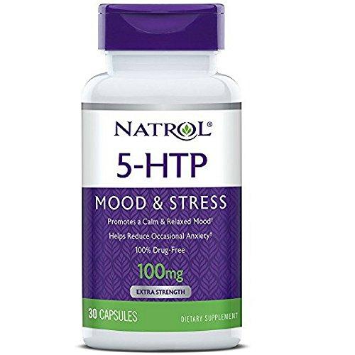 Natrol 5 HTP 100 Capsules 30