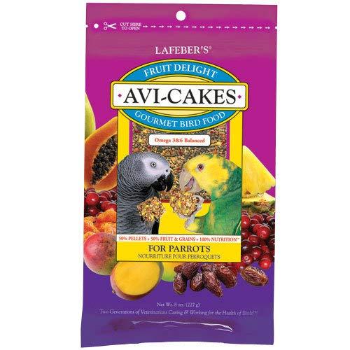 Avi-Cakes Fruit Delight Parrot 4 pk 8 oz by LAFEBER'S