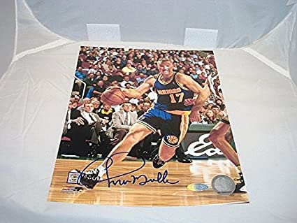 47f8ed52ce7b Chris Mullin Signed Auto Golden State Warriors 8x10 Picture Auto Steiner  Sports COA