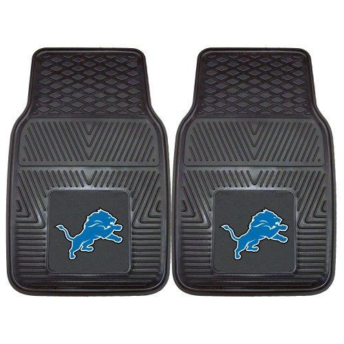 Fanmats 8895 NFL-Detroit Lions Vinyl Universal Heavy Duty Fan Floor Mat