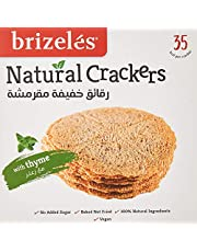Brizeles Thyme, Gourmet Savoury Cracker, 120g - Pack of 1