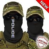 SA Company Face Shield Police Thin Blue Line