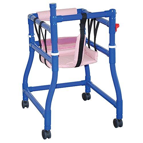 (MJM International B-AW-LG Blue Large Adapt A Walker, Royal Blue/Forest Green/Mauve, 250 fl oz, 47