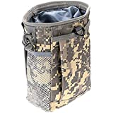 KEESIN Tactical Molle Dump Pouch,Utility Drawstring Drop Holster Bag for Outdoor Camping Hiking,2 Pack