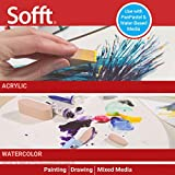 Sofft Tool 62003 No. 3 Oval Sponge Covers Pack of