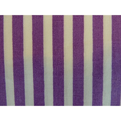 Boutique Striped Multicolore Mouchoir Multicolor White Violet unica 1 Femme rqrBH