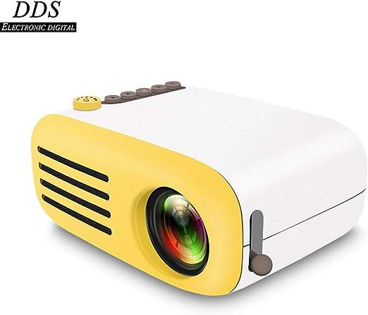 Inicio Mini Proyector, Portátil/Proyector LED Portátil/HD 1080P ...
