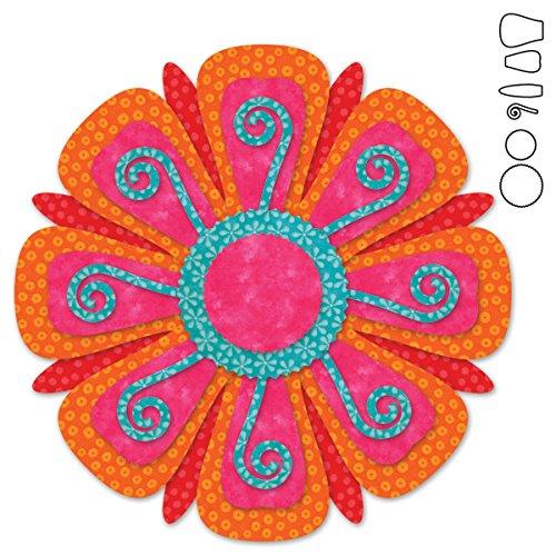 - AccuQuilt Go! It Fits! Fabric Cutting Dies: Fantasy Flowers