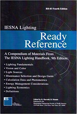 Iesna Lighting Ready Reference: A Compendium Of Materials From The Iesna
