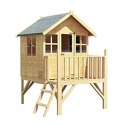 Caseta de madera 4x4 BillyOh Bunny Max para niños, casa de juegos infantil