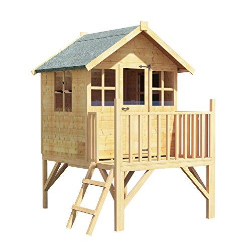 Caseta de madera 4x4 BillyOh Bunny Max para niños, casa de juegos infantil: Amazon.es: Jardín