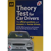 AA THEORY TEST FOR CAR DRIVERS-THE OFFICIAL QUESTIONS AND ANSWERS FOR LEARNER DRIVERS