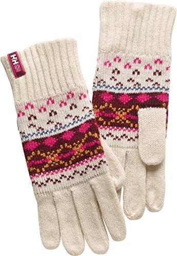Helly Hansen 2014/15 Women's Frost Heritage Knit Gloves - 6 PACK - 67975 (Eggshell - STD)