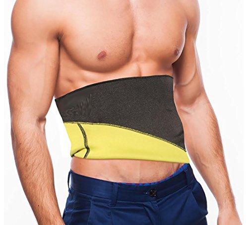 Shop Flash Forever Slim Neoprene Thermo Men's Waist Belt, Black, XL, 0.24 Count