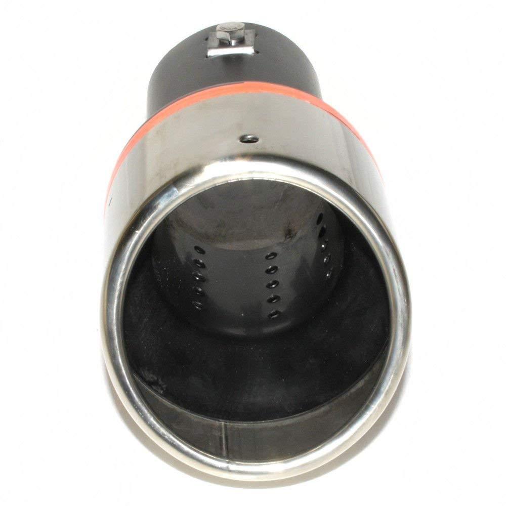 Tubo de escape universal para coche Boloromo YFX-0079 silenciador deportivo de acero inoxidable cromado