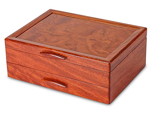 Prairie II Jewelry Box - 1 Drawer by Heartwood Creations (Image #5)