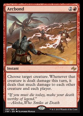 Magic: the Gathering - Arcbond (091/185) - Fate Reforged from Magic: the Gathering