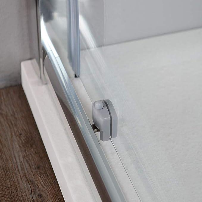 ducha nicho con puerta Corredera 100 cm Cristal 6 mm | Línea New Jade: Amazon.es: Bricolaje y herramientas