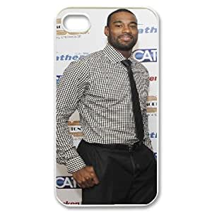 Yearinspace Calvin Johnson IPhone 4/4s Cases Calvin Johnson Business Suit For Boys, Apple Iphone 4s Case Girls, {White} by icecream design