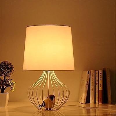 Creative Birdcage Table Light Bedroom Bedside Living Room Balcony Corridor Simple Iron Table Lamp, 220V-240V