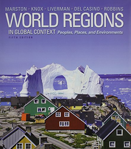 World Regions in Global Context: People, Places and Environments and Modified MasteringGeography with eText and Value Pack Access Card (5th Edition)