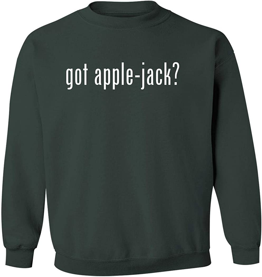got apple-jack? - Men's Pullover Crewneck Sweatshirt