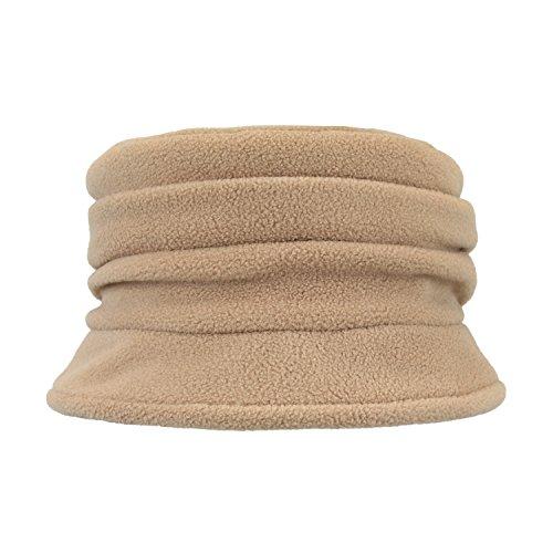 Polyester Fleece Bucket Ruching Crusher