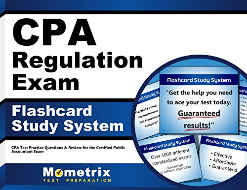CPA Regulation Exam Flashcard Study System: CPA Test Practice Questions & Review for the Certified Public Accountant Exam (Cards)