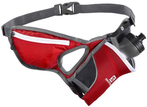 Salomon Hydro 45 Belt Hydration Pack Bright Red/Iron 20Oz Mens