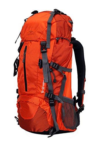 eeba3d3d6767 Topsky Outdoor Sports Waterproof Hiking Climbing Internal Frame Backpack  Unisex 40L 50L 60L Lightweight Trekking Travel Daypacks with Rain Cover ...