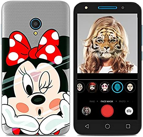 PREVOA Colorful Silicona TPU Funda Case Protictive para ALCATEL U5 ...