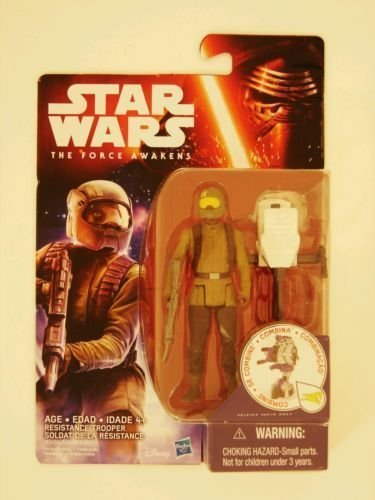 """Hasbro Star Wars The Force Awakens 3.75"""" Figure Space Mission Resistance Trooper"""