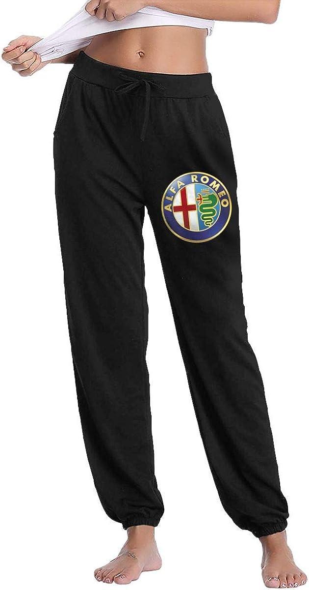 Alfa Romeo Women's Casual Sweatpants Fitness Training Jogger Pant