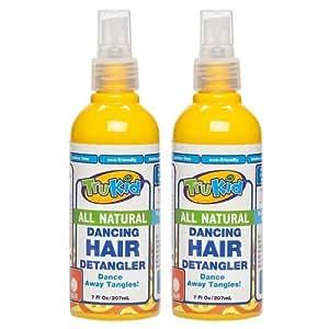 TruKid Dancing Hair Detangler, Light Citrus Scent 2 pack, 7 Oz