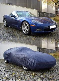 Autoabdeckung Soft Indoor Car Cover Stretch Delux Autogarage Faltgarage Premium mit Spiegeltaschen