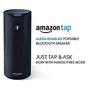 Certified Refurbished Amazon Tap - Alexa-Enabled Portable Bluetooth Speaker