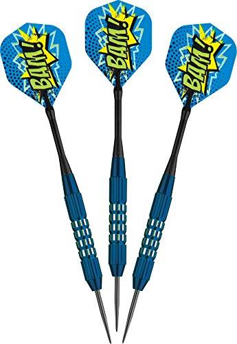 Viper Comix Steel Tip Darts: BAM (Blue), 22 Grams
