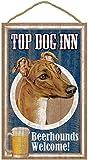(SJT27941) Greyhound (Brown color) , Top Dog Inn 10