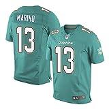 13 Dan Marino Miami Elite Mens Football Jersey Aqua Green
