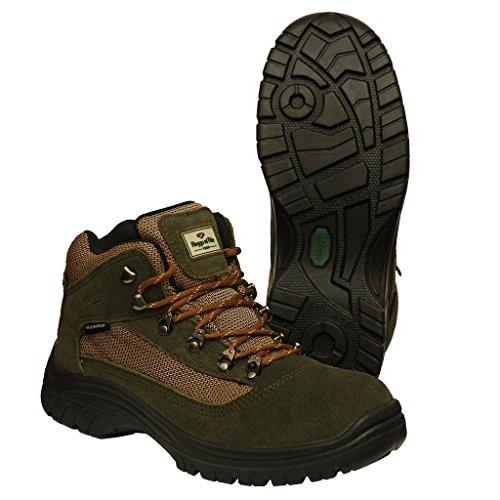Hoggs of Fife Rambler - Zapatillas de senderismo para hombre Verde Fern Green