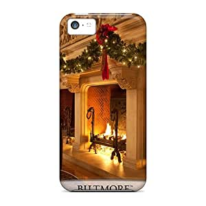 Defender Cases For Iphone 5c, Biltmore Christmas Pattern